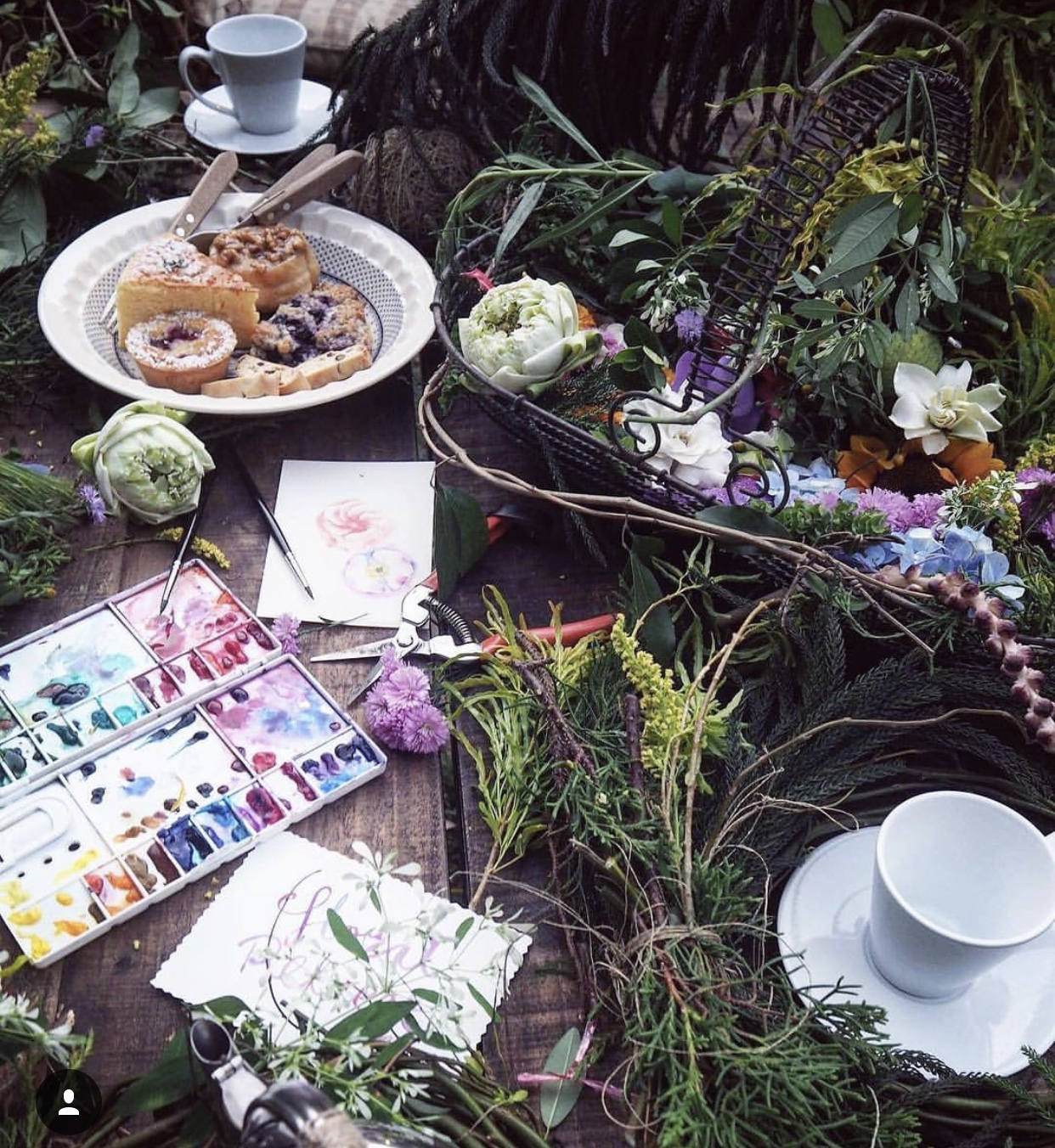 Held one of the workshops at natural setting of Forest Bake followed by their delectable cakes.