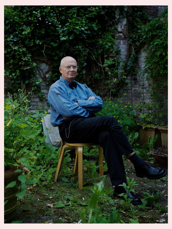 Official portrait of the winner of Heineken Prize for Art, Peter Struycken.