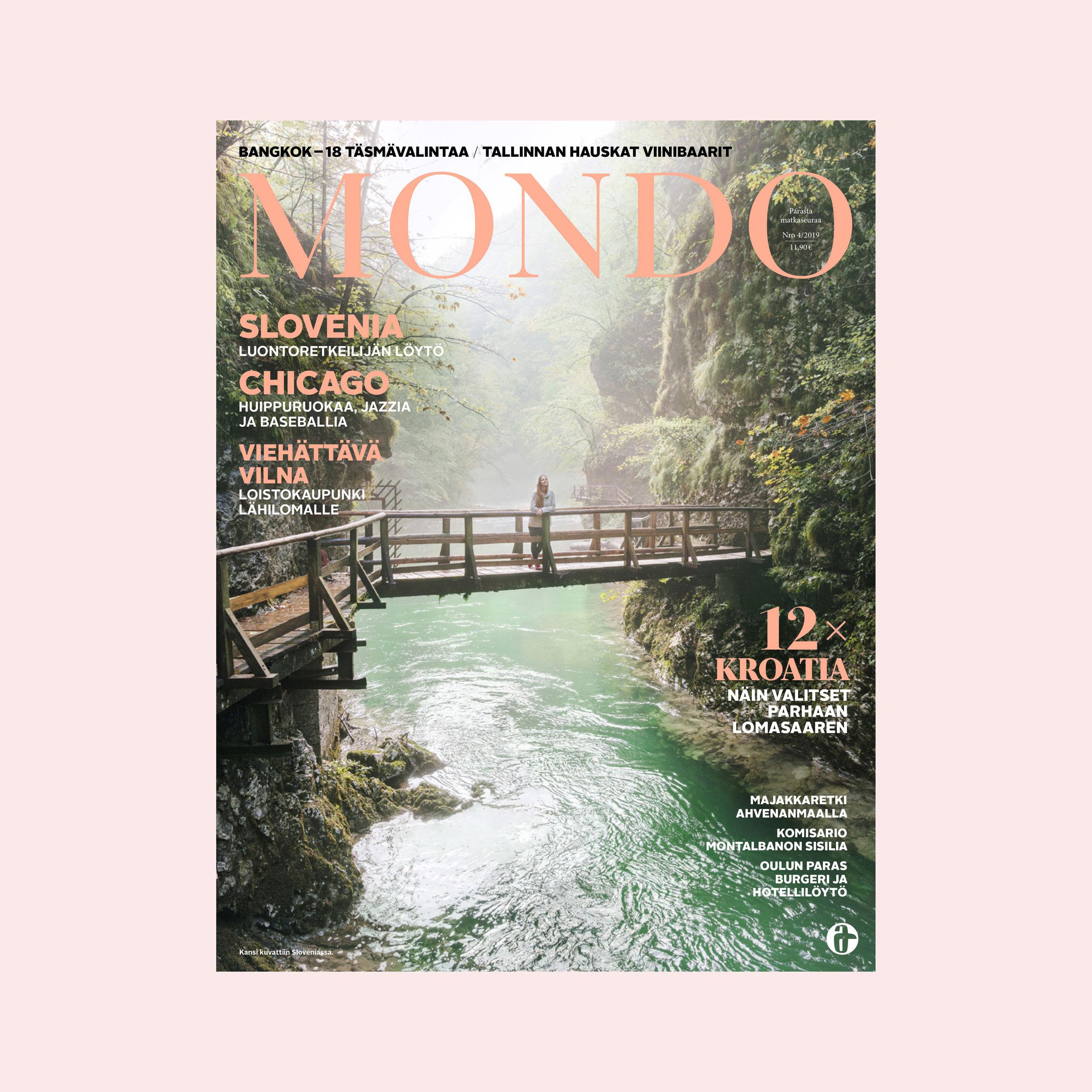 Cover for Mondo (FI).
