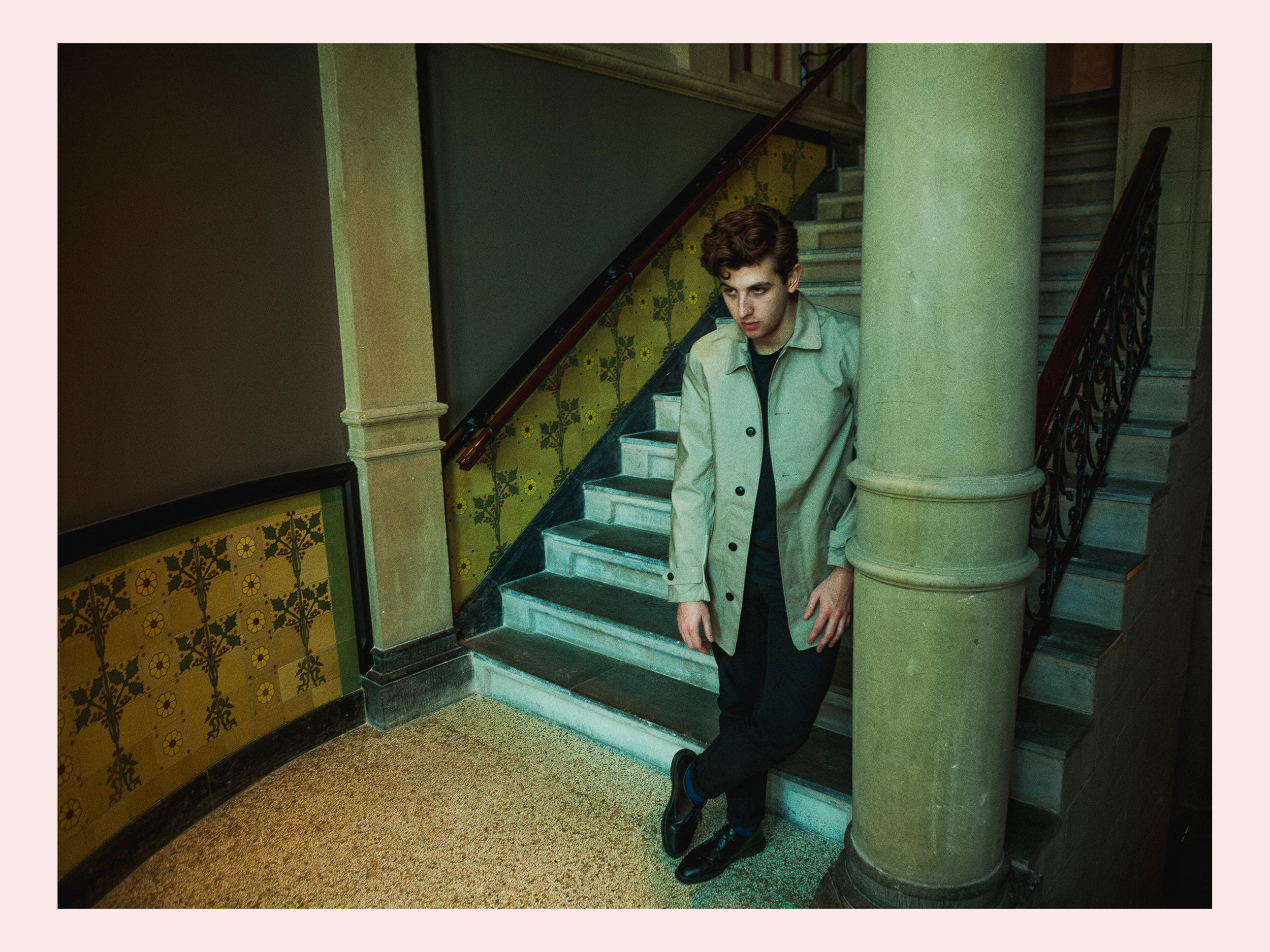Jamie XX for Code Magazine (NL).
