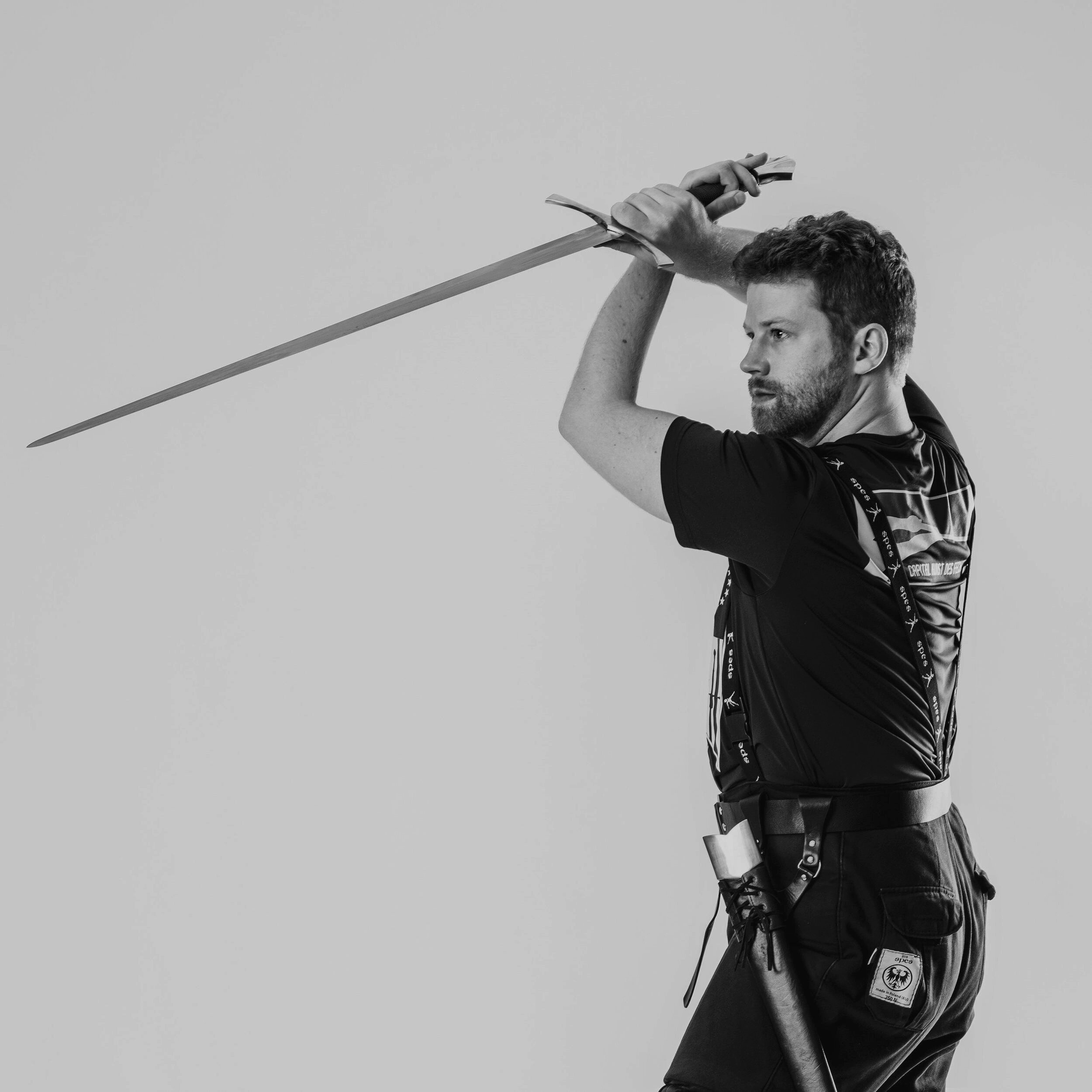 Thomas Schratwieser  instructs both common fencing and Kunst des Fechtens longsword, for which he has earned medals in test cutting and paired technique. He is a scientific consultant for the DoD in Arlington, VA.