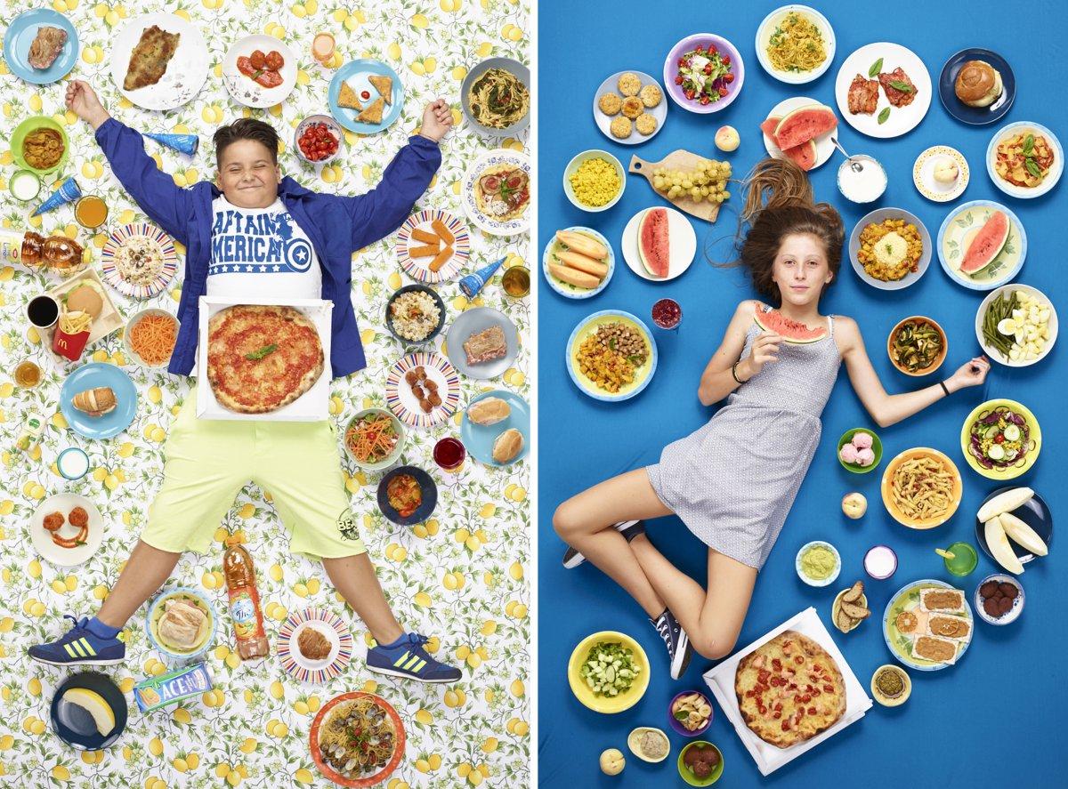 Fotografia di Gregg Segal   What Kids Eat Around the World time.com