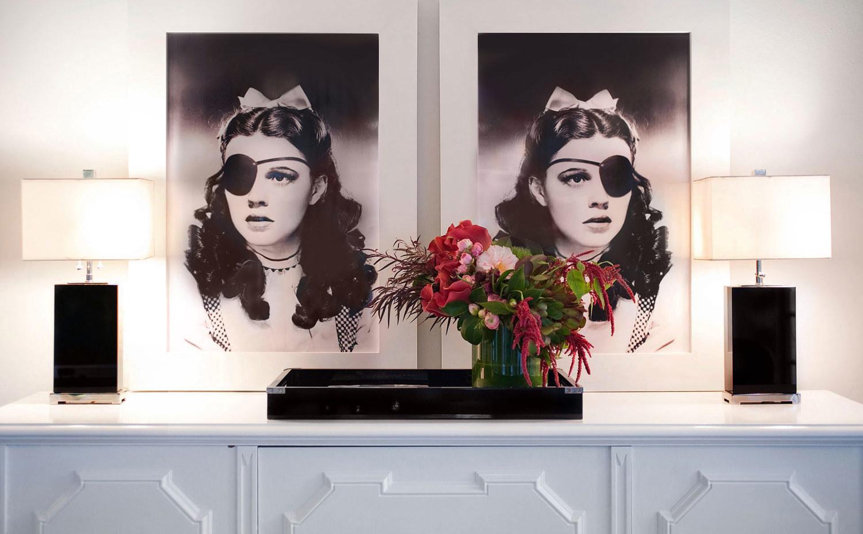 modern interior design, decoration, floral display, Aspen