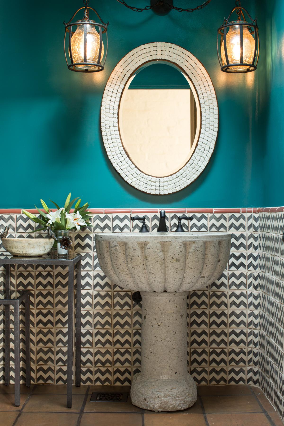 Santa Fe interior designer, decoration, bathroom remodel