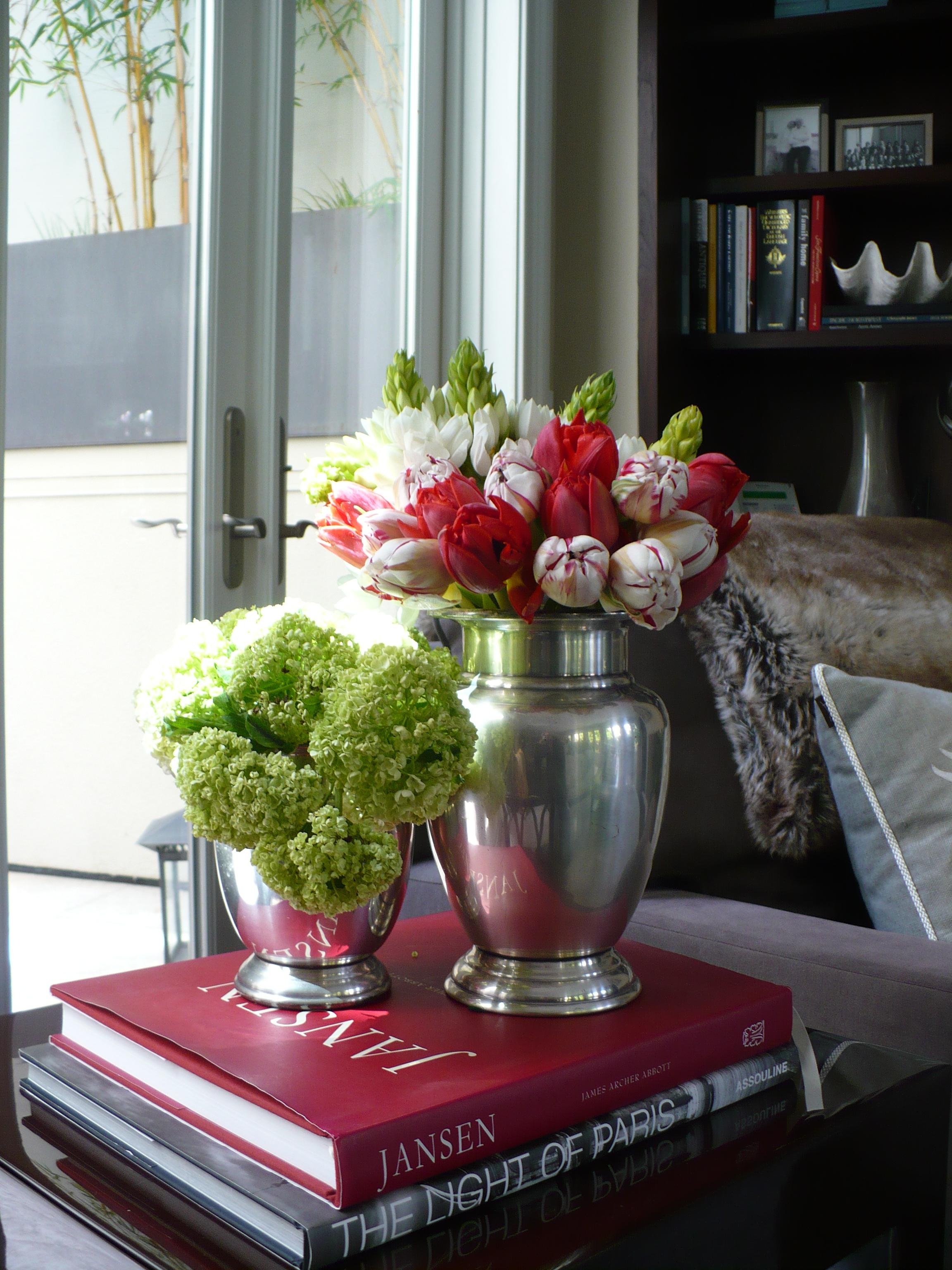 Floral display, Aspen CO, Santa Fe NM,