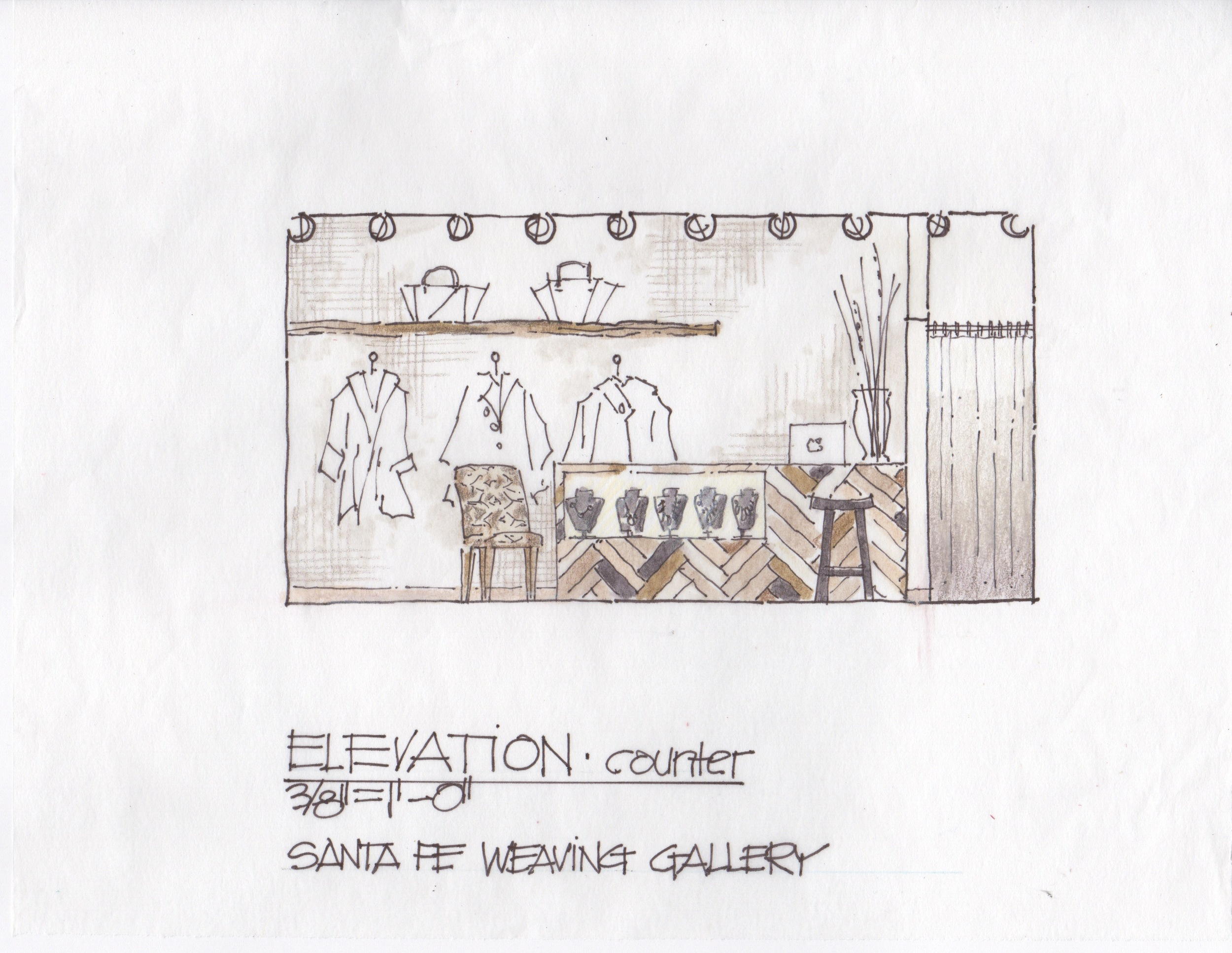 retail space, interior design, retail planing