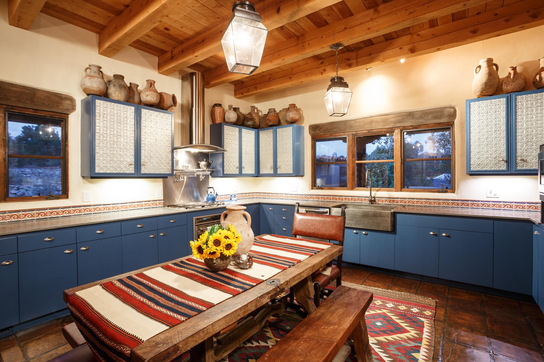 kitchen remodel, Santa Fe, New Mexico, interior design