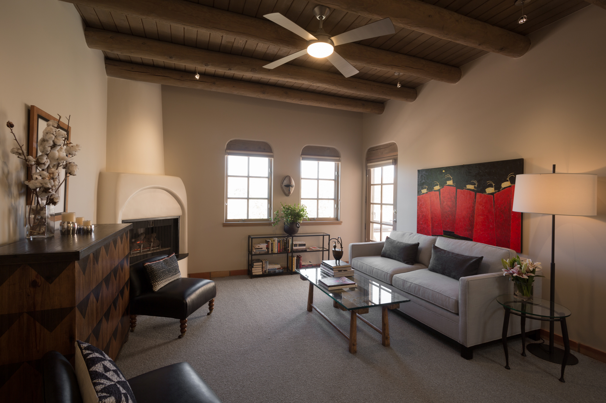 Aspen, Santa Fe, small house, decoration, interiors