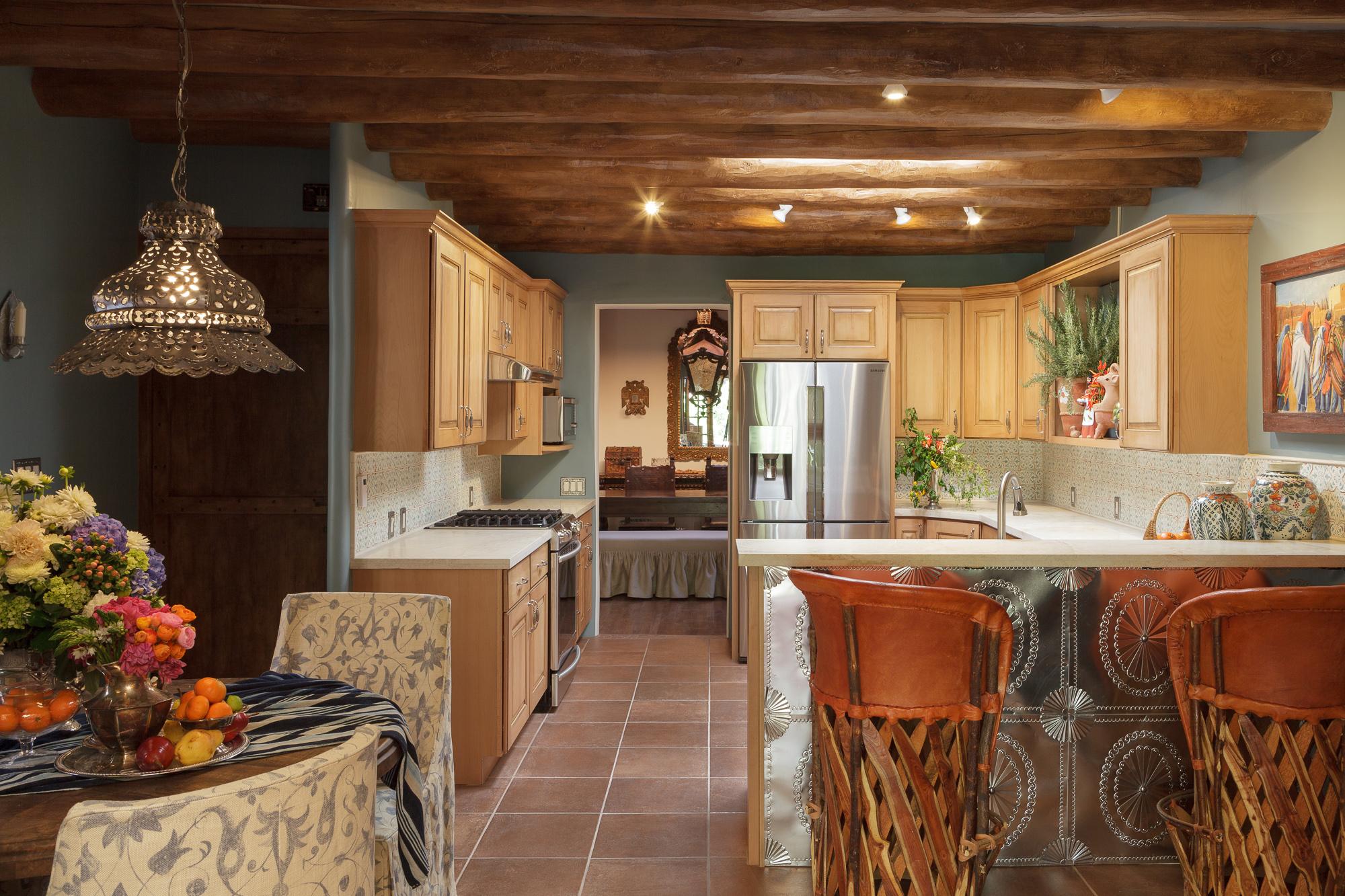 Santa Fe Style Kitchen
