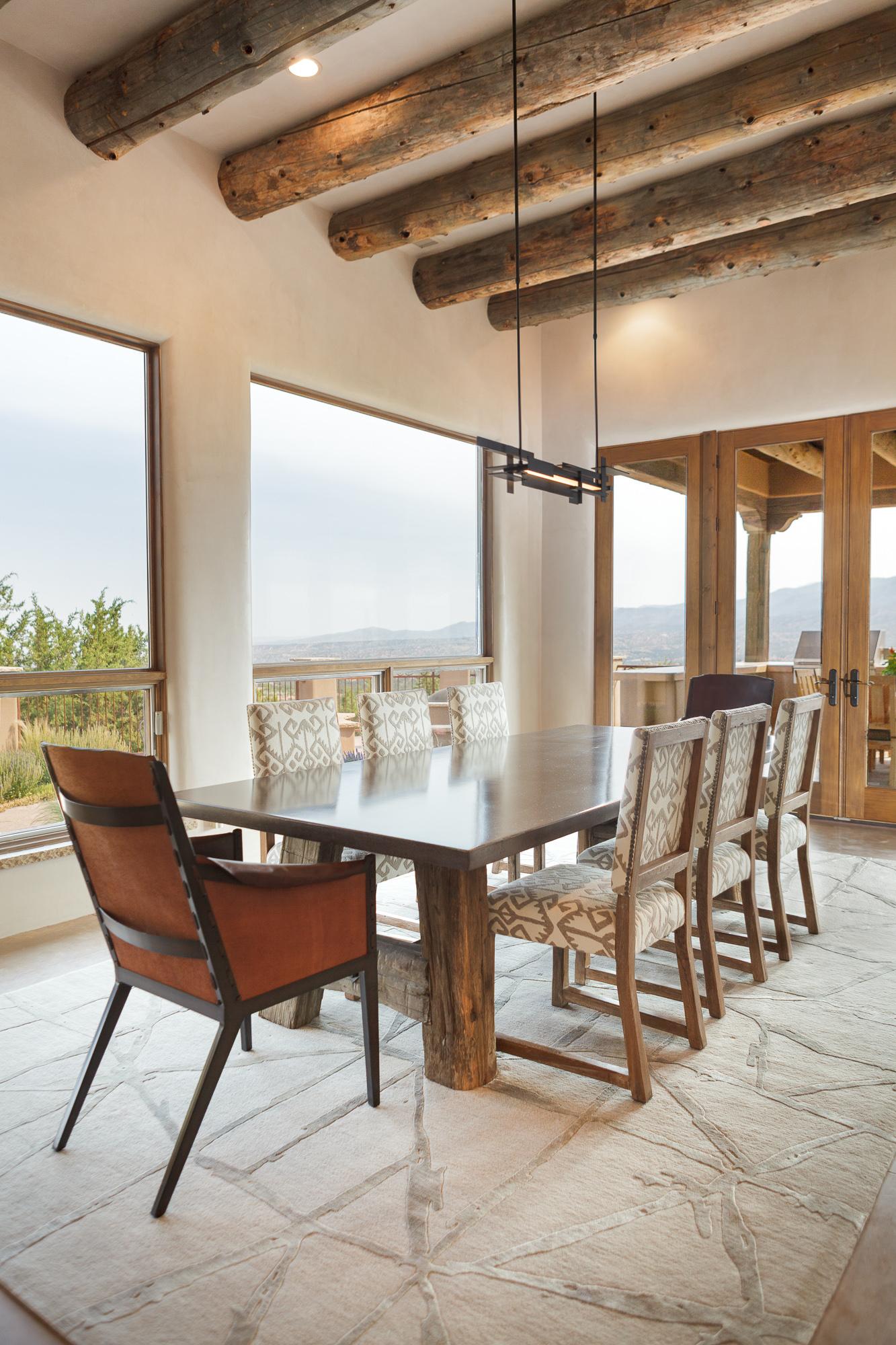 Santa Fe Modern Dining Room