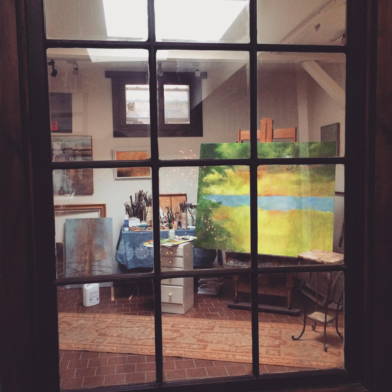 The private studio of  Lydia Pasqualina
