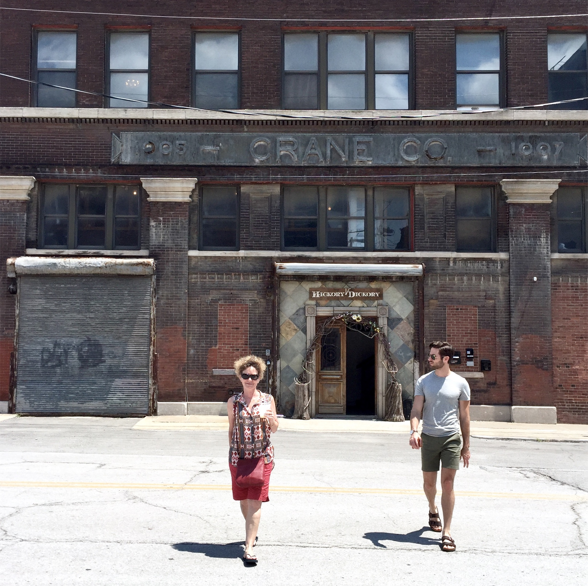 Wandering through the West Bottoms, a warehouse district in the heart of Kansas City.