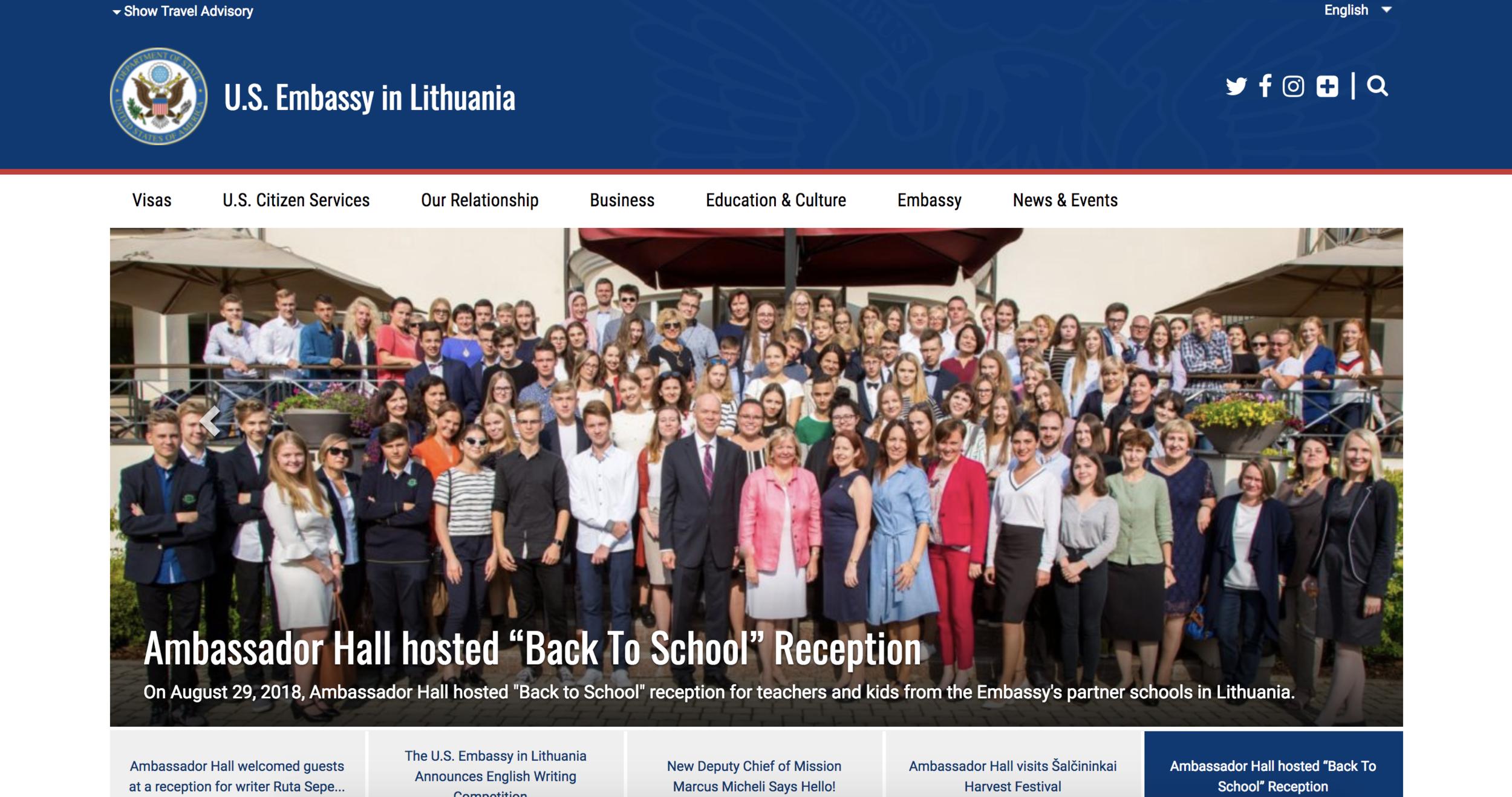 U.S. Embassy in Vilnius