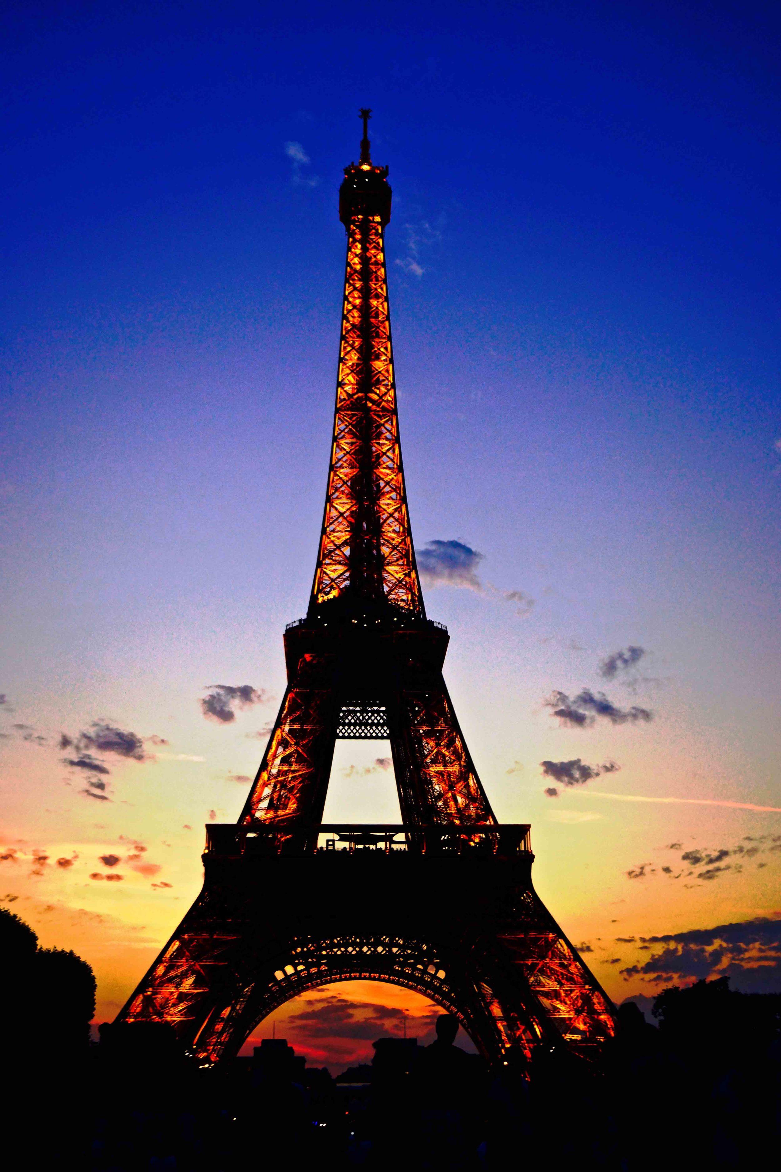 Eiffel Tower, Paris, July 2015