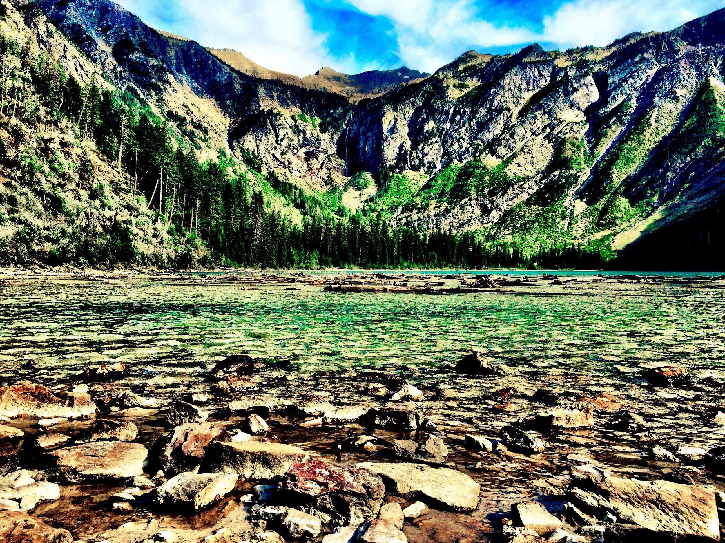 Avalanche Lake, Glacier National Park, Montana, August 2015