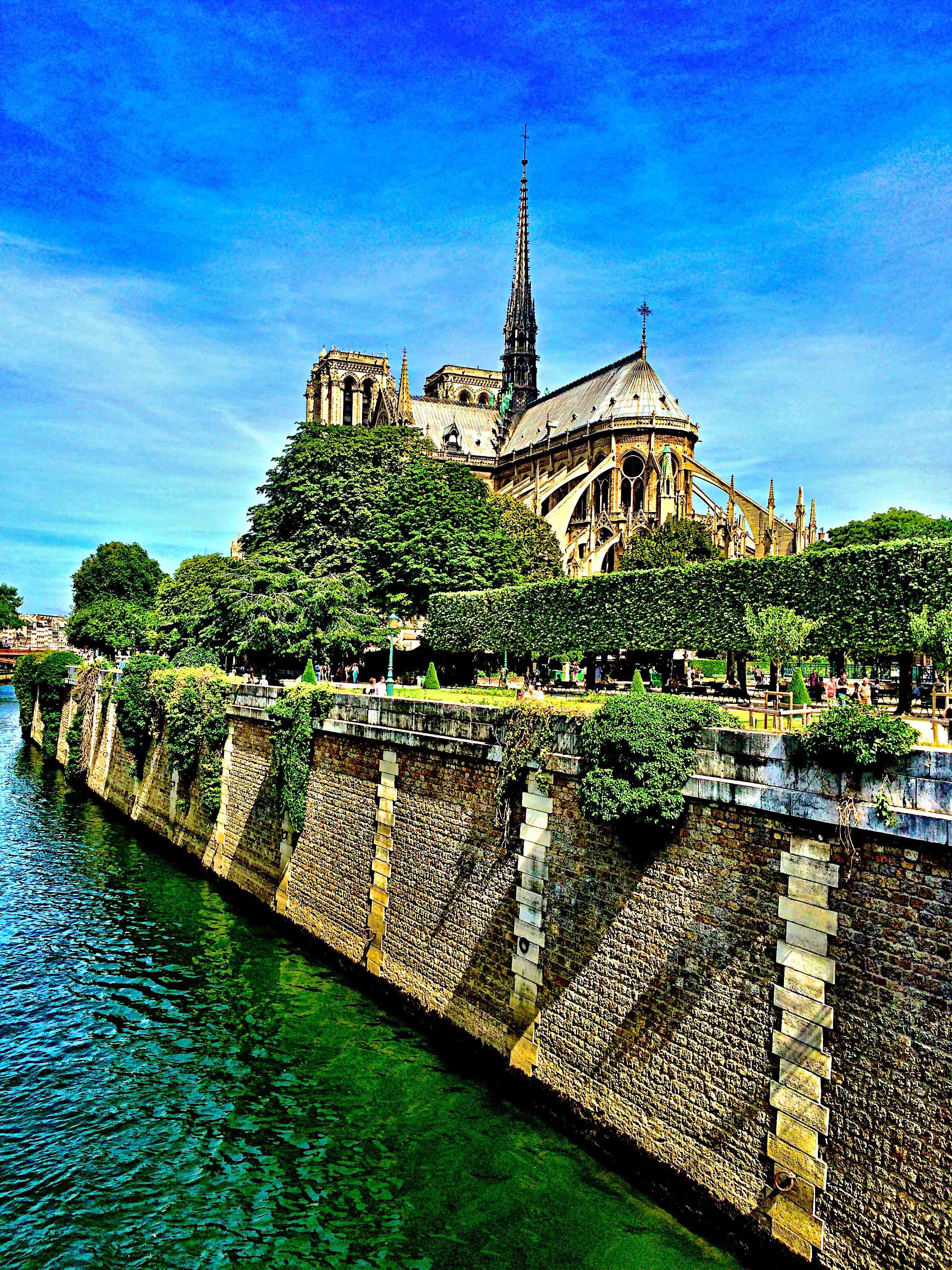 Notre Dame, Paris, June 2015