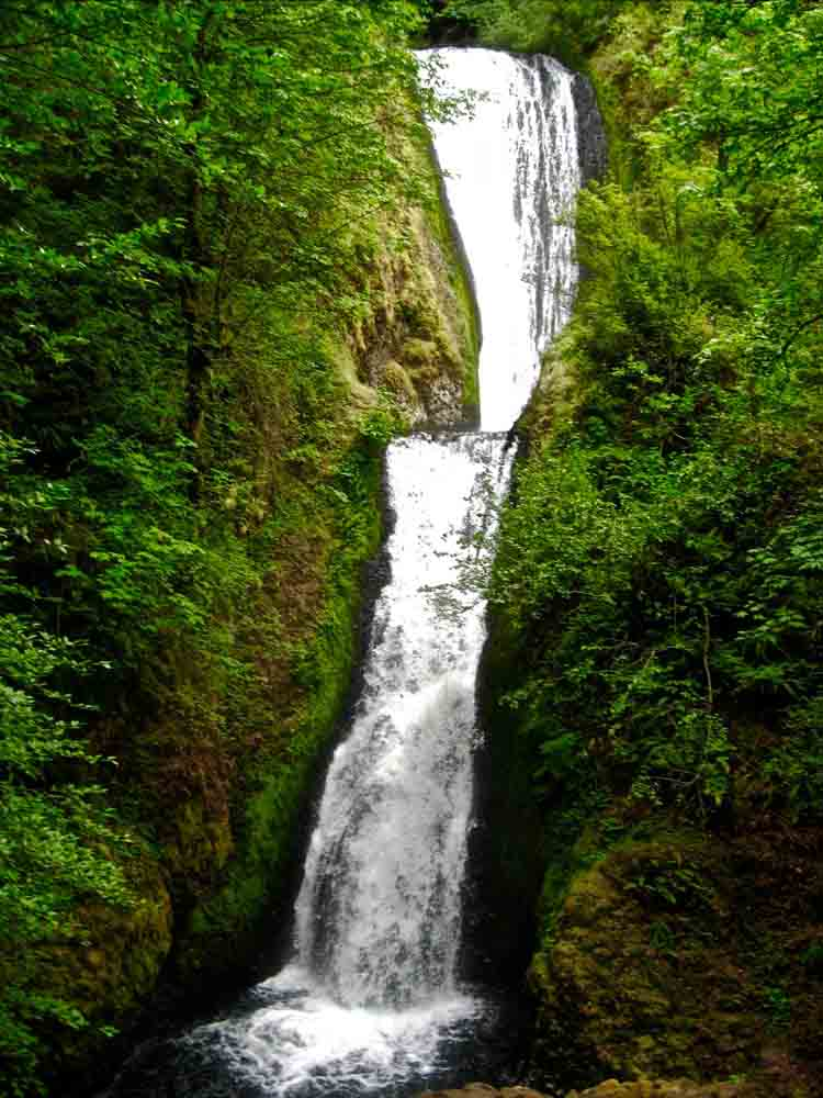 Horsetail Falls, Oregon, July 2008