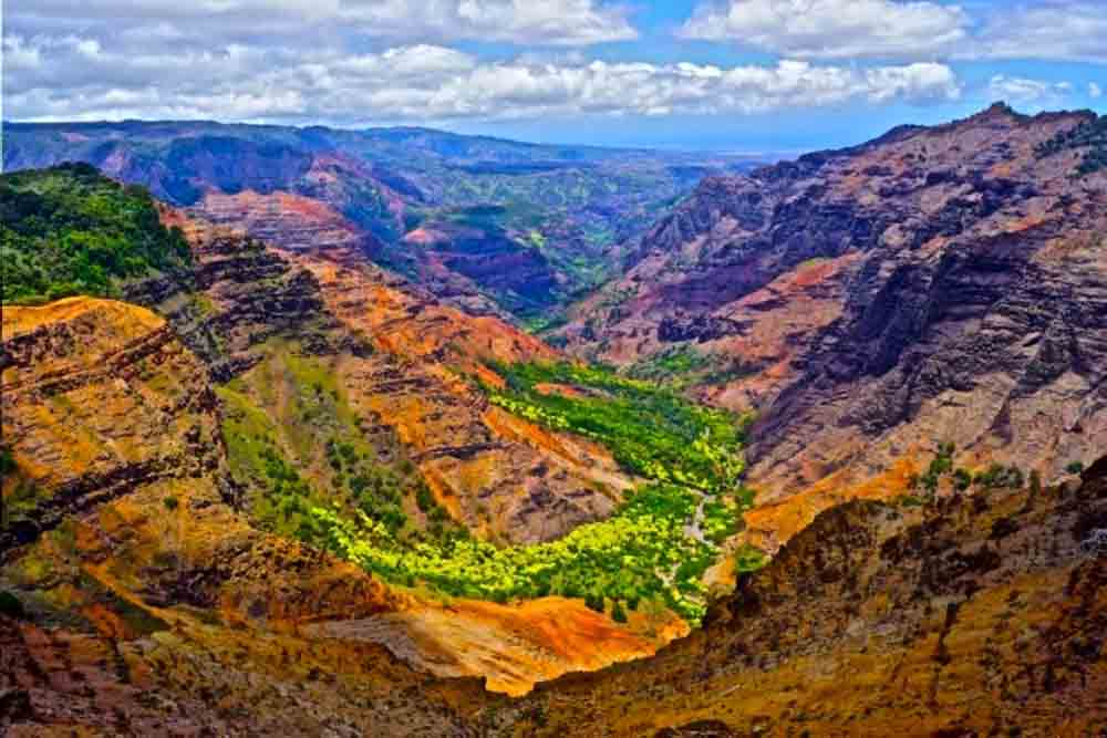 Waimea Canyon, Kauai, Hawaii July 2012