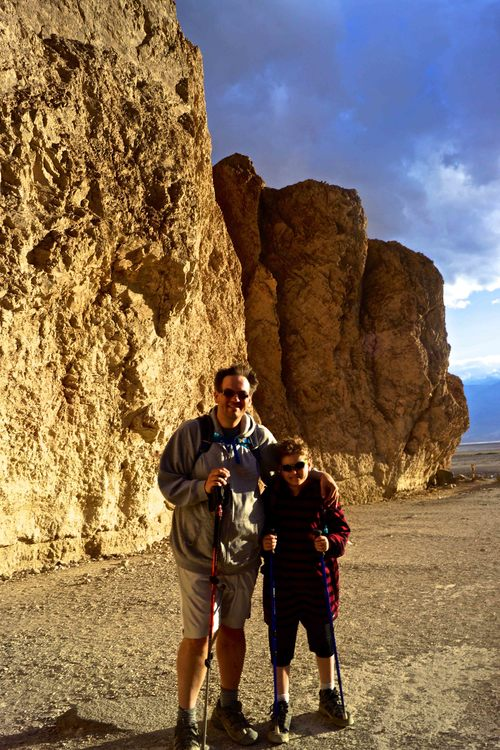 Gold Canyon, Death Valley National Park, April 2015