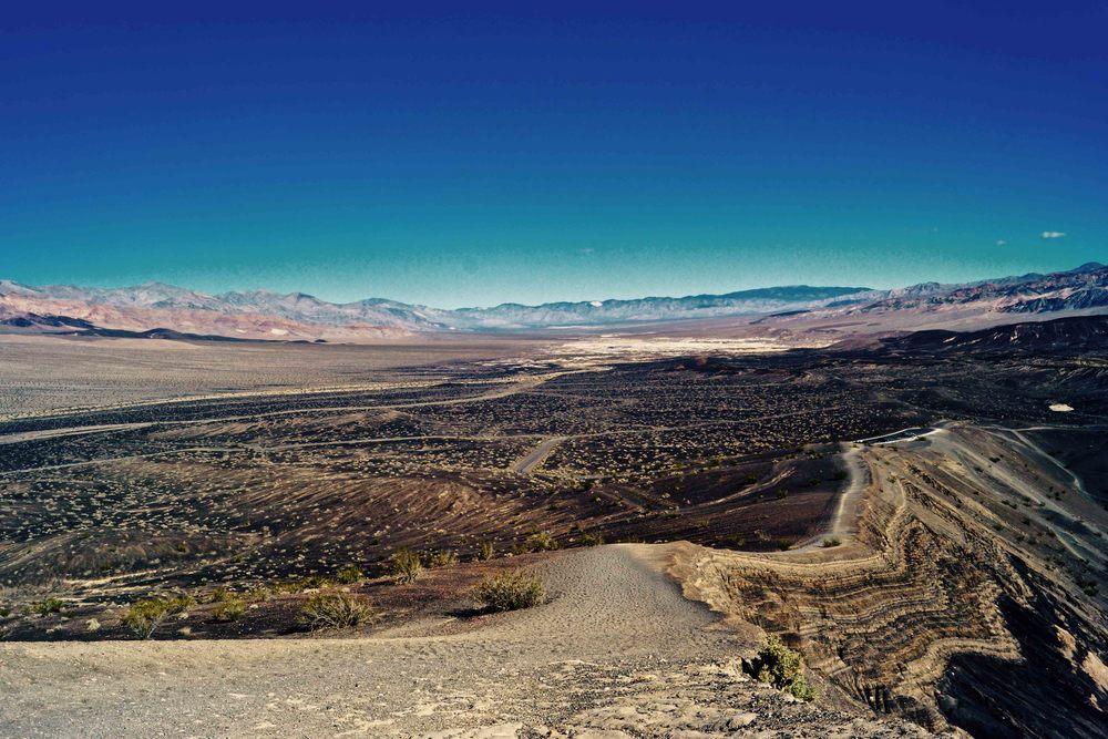 Ubehebe Crater, Death Valley National Park, April 2015