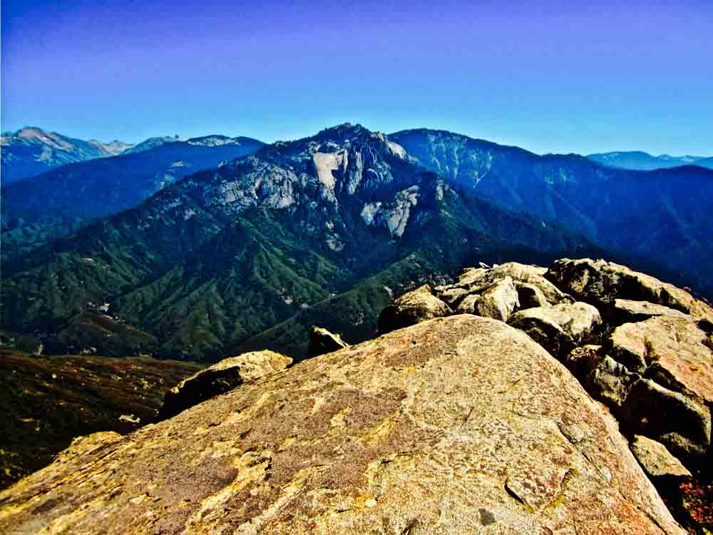 Moro Rock, Sequoia National Park, California, August 2011