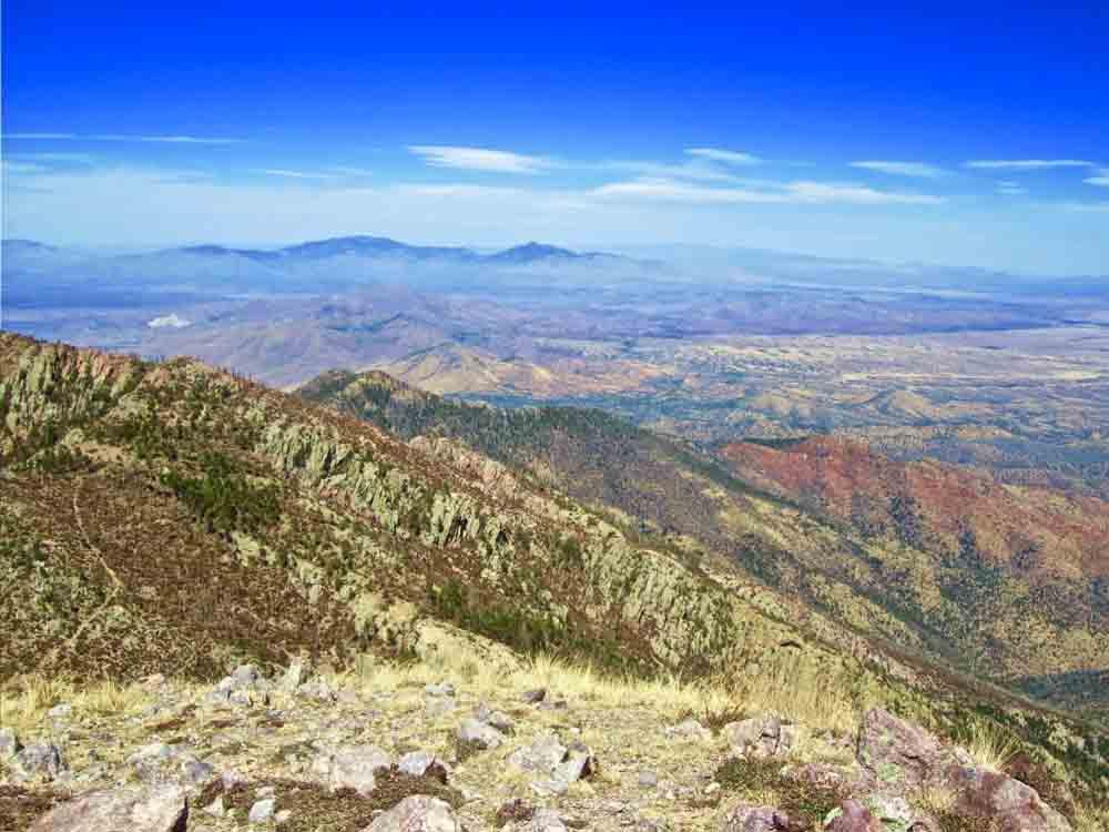 Mt. Wrightson Summit, Arizona, April 2011