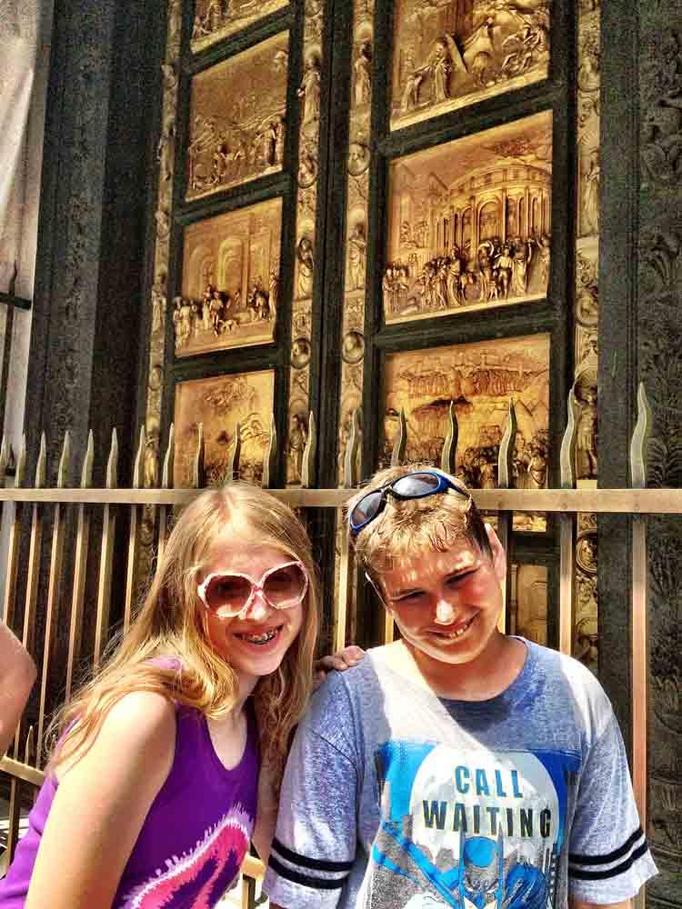 Gates of Paradise, Florence, Italy, July 2015