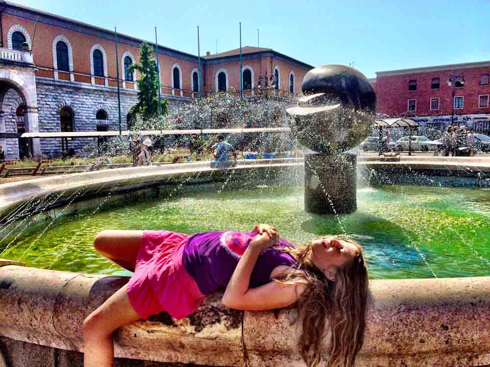 Pisa, Italy, July 2015