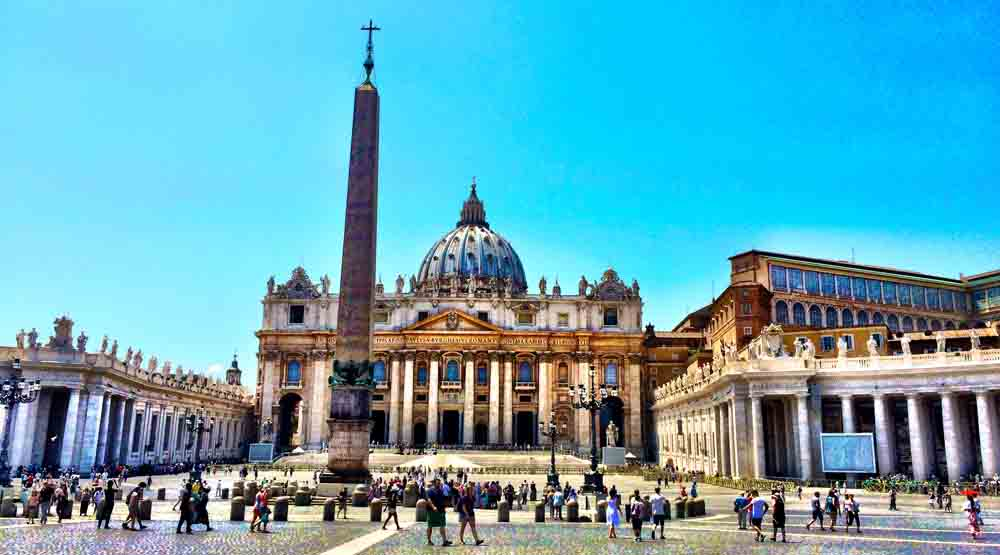 St. Peter's, The Vatican, July 2015
