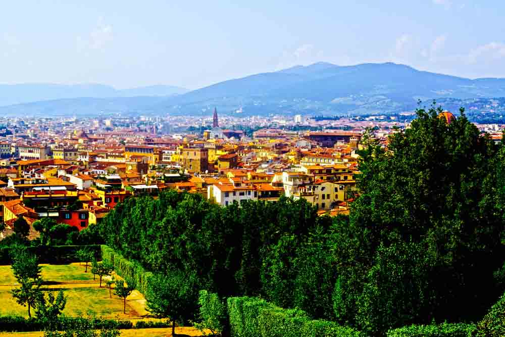 Florence, Italy, July 2015