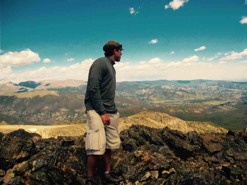 Hallett Peak, Rocky Mountain National Park, Colorado, August 2010