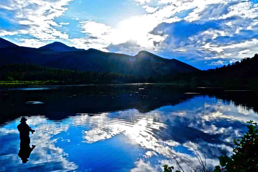 Lily Lake, Colorado, August 2012
