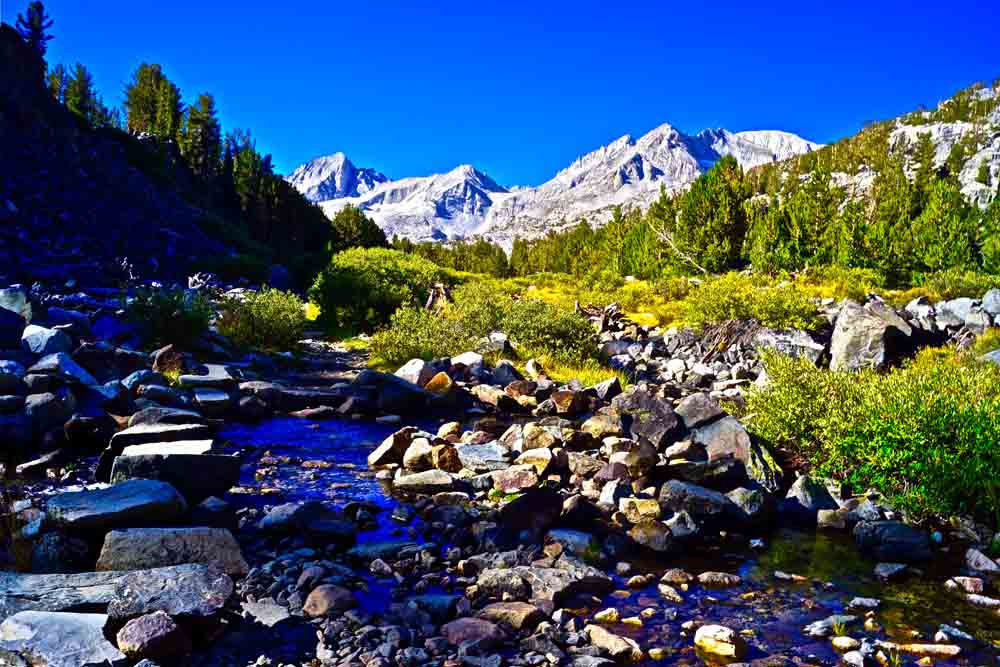 Inyo National Forest, California, August 2012