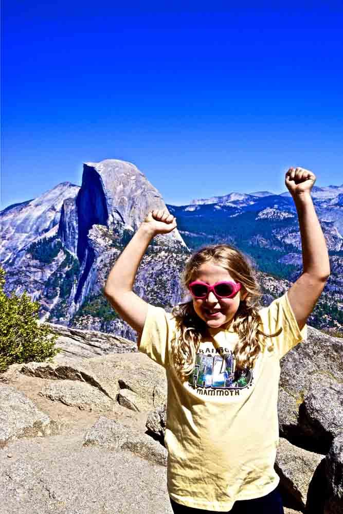 Glacier Point, Yosemite, California, September 2012