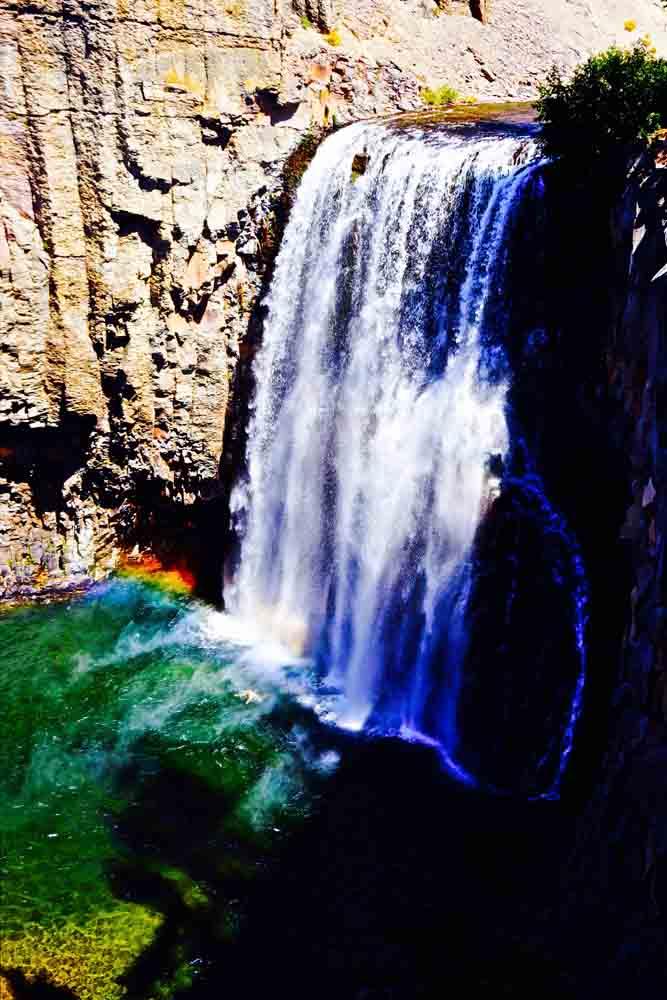 Rainbow Falls, California, June 2014