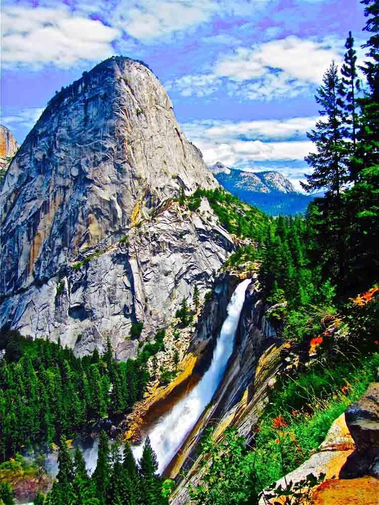 Liberty Cap, Yosemite, August 2011