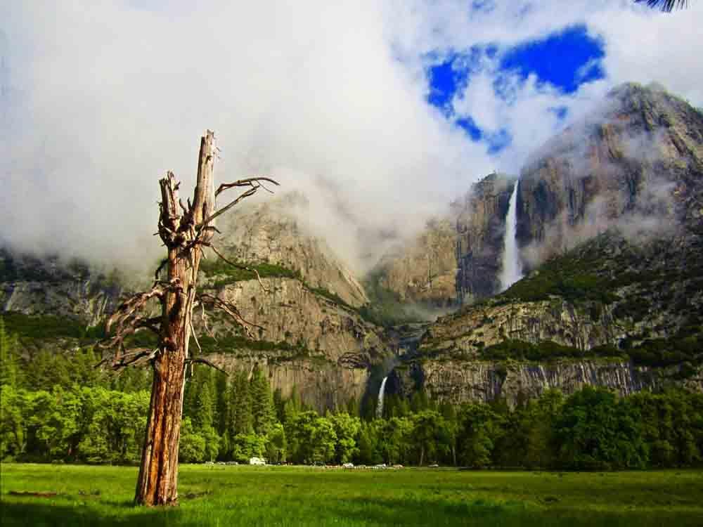 Yosemite Falls, California, May 2011