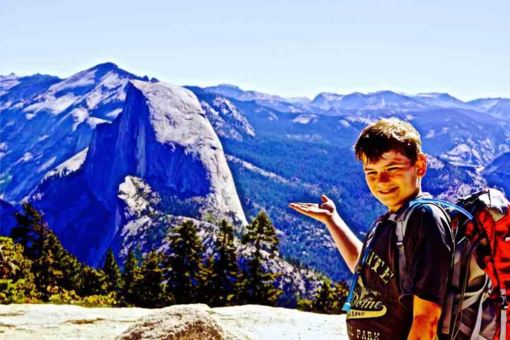 Sentinel Dome summit, Yosemite, California, June 2014