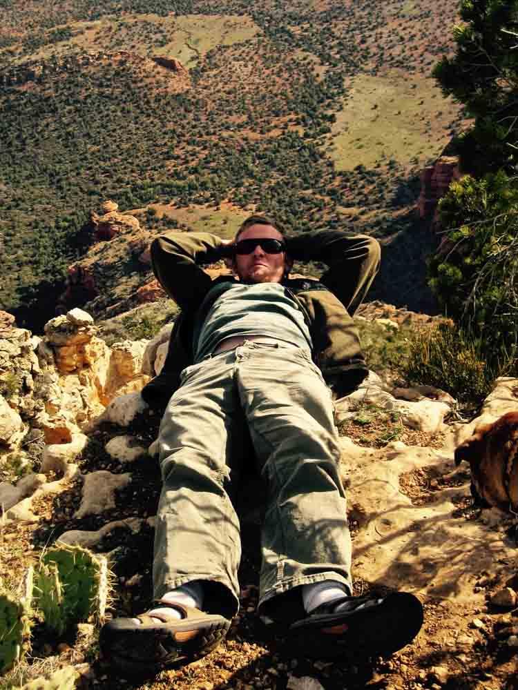 Bear Mountain summit, Arizona, April 2010