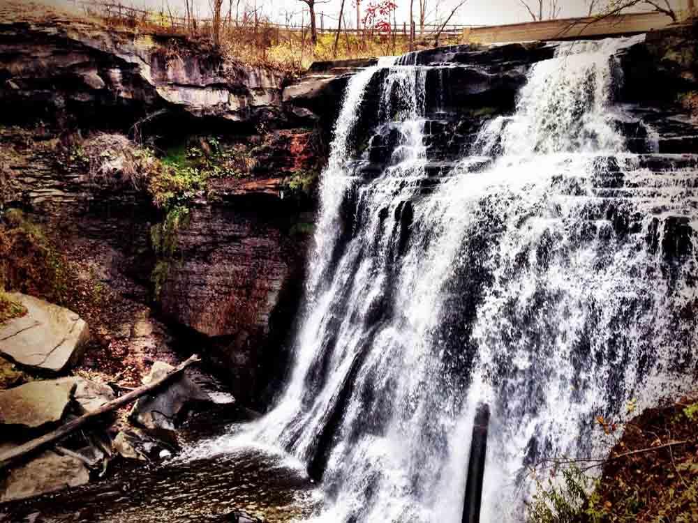 Brandywine Falls, Cuyahoga National Park, Ohio, October 2013