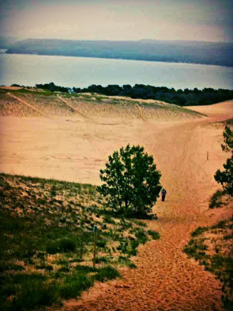 Lake Michigan, Sleeping Bear Dunes, May 2010