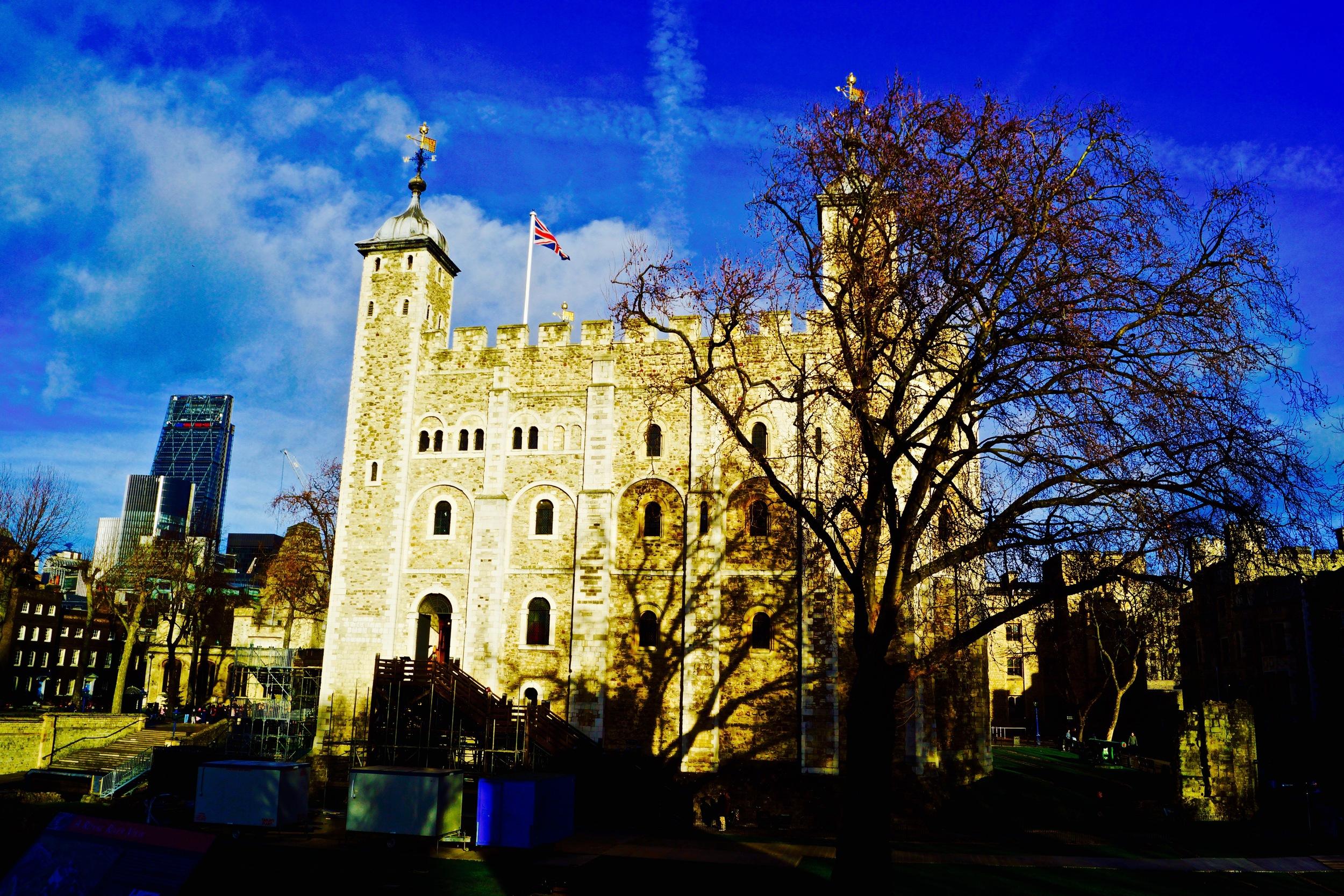 Tower of London, London, December 2014