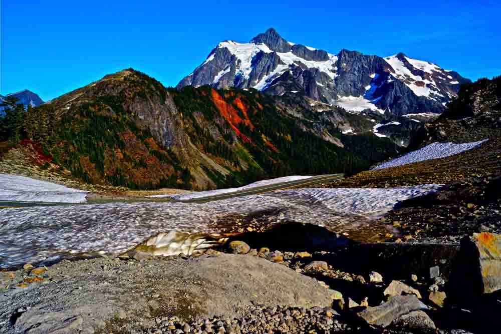 Mt. Shuksan, Washington, September 2012
