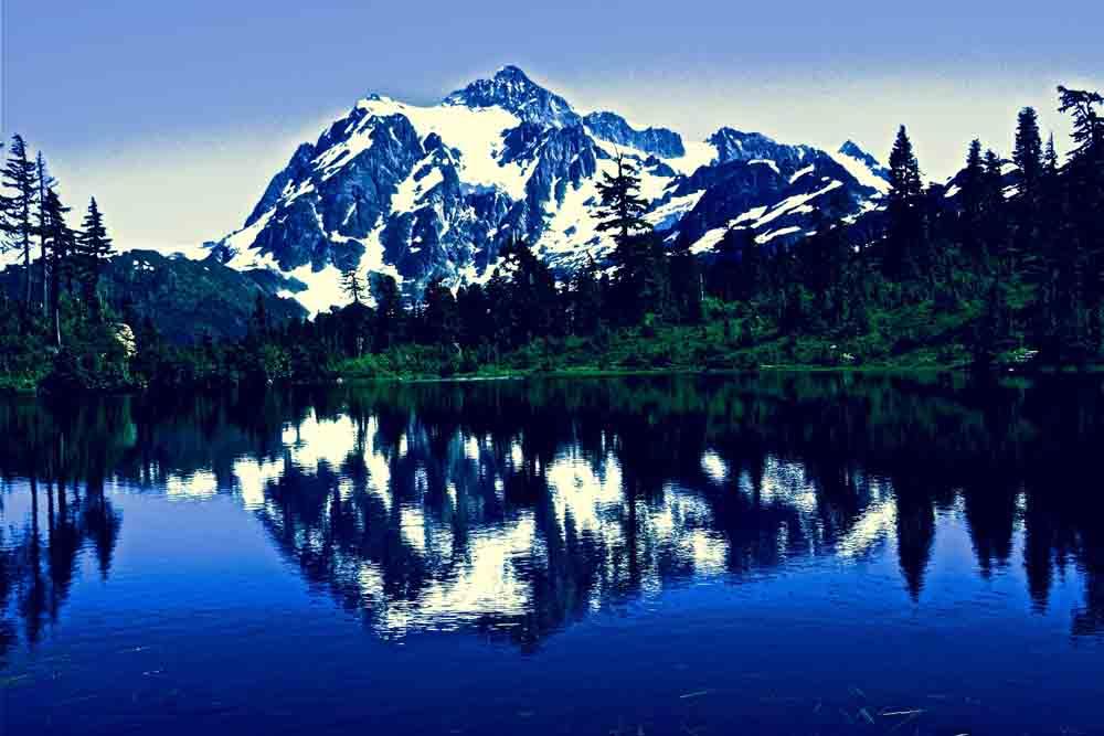 Mt. Shuksan, Washington, July 2014