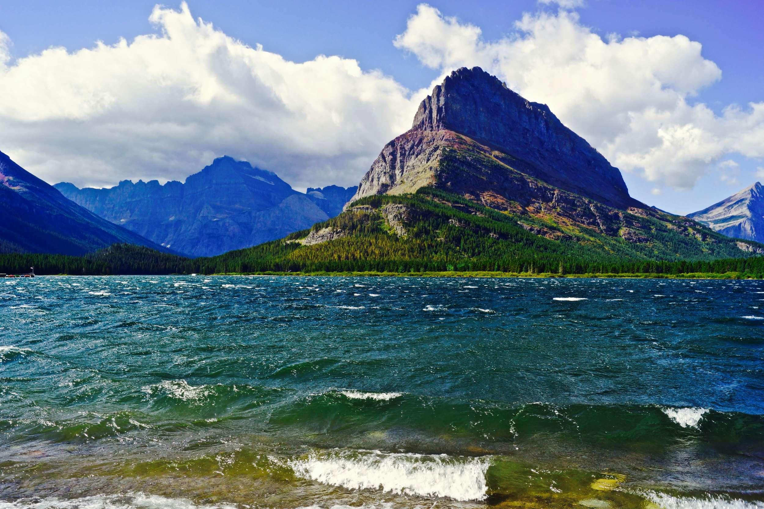 Many Glacier, Glacier National Park, Montana, August 2015