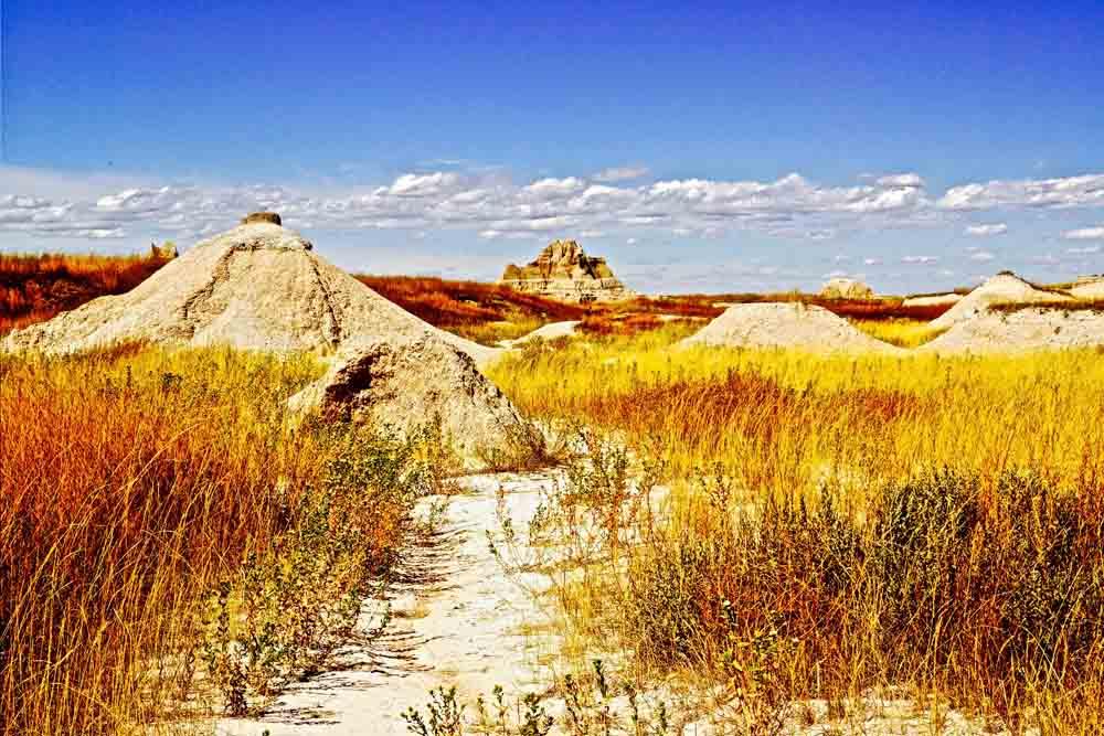 The Badlands, South Dakota, August 2014