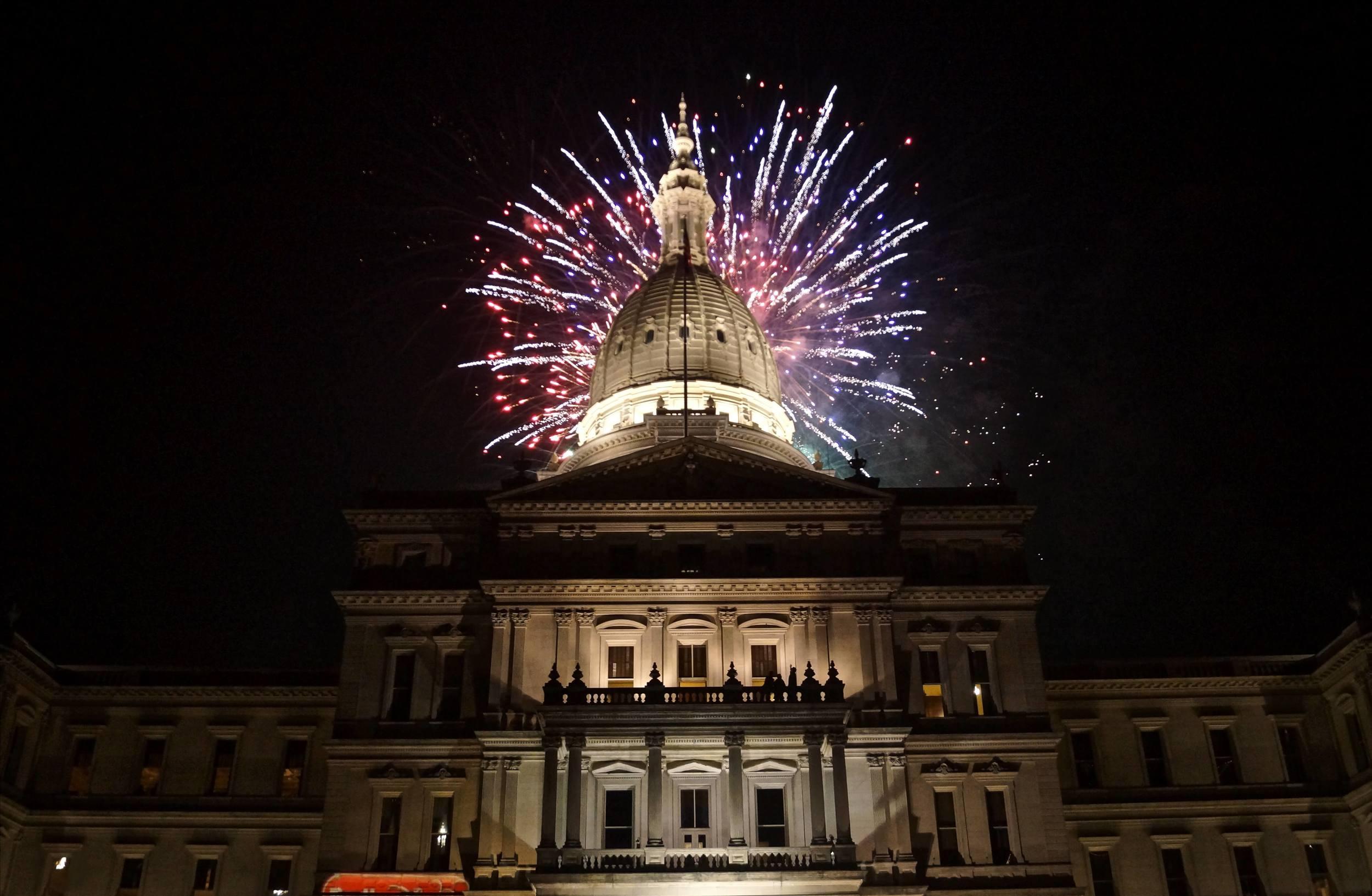 Capitol, Lansing, Michigan, November 2010
