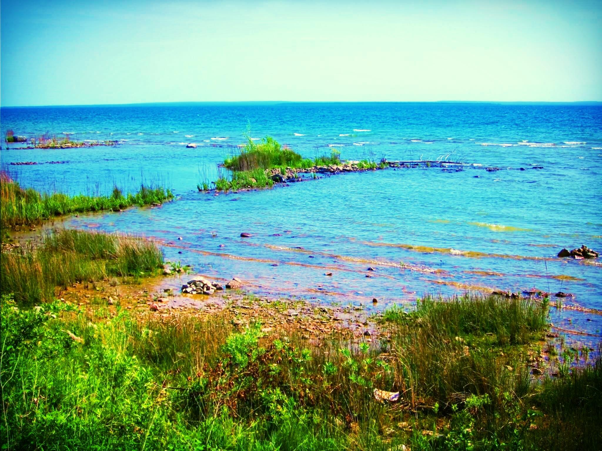 Lake Huron, St. Ignace, Michigan, June 2011