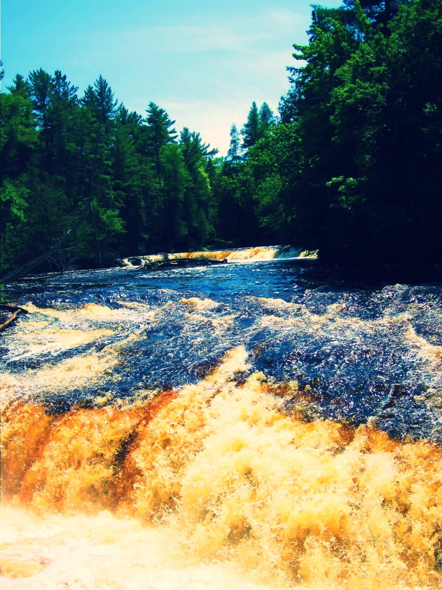 Tahquamenon Falls, Michigan, June 2011