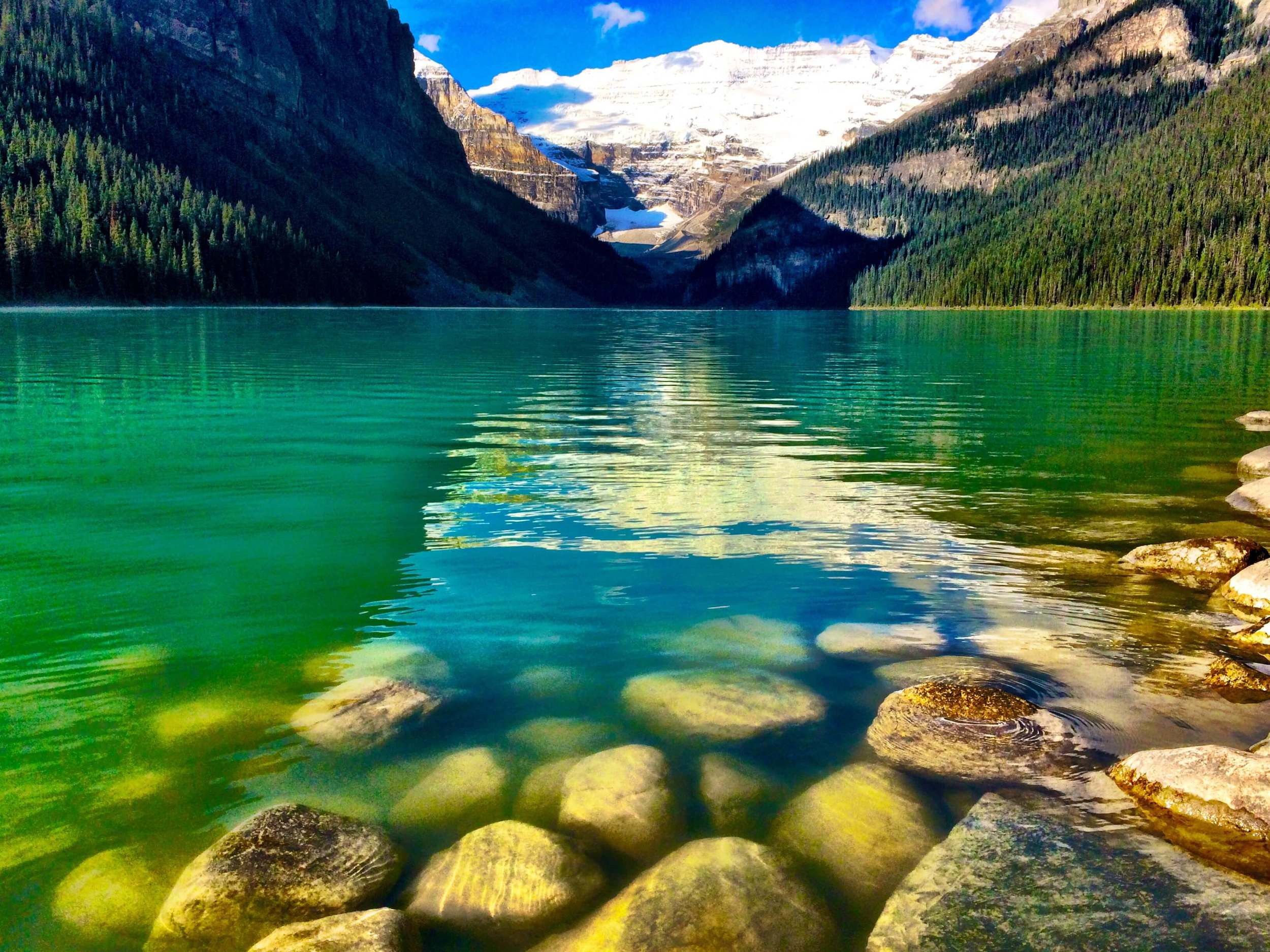 Lake Louise, Canada, September 2014